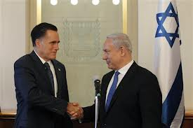 Romney and Benjamin Netanyahu