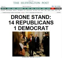 HuffPo-Rand-Paul-Filibuster-Drone-Stand