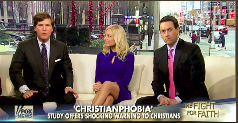 Christianphobia on the rise?  Hardly
